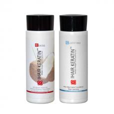 Kit iHair Keratin Cocos + Clarifying Shampoo Ihair Keratin 100ml