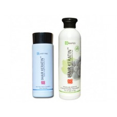 Kit iHair Keratin Grapes 250ml + Clarifying Shampoo Ihair Keratin